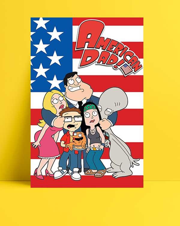 American Dad afişi