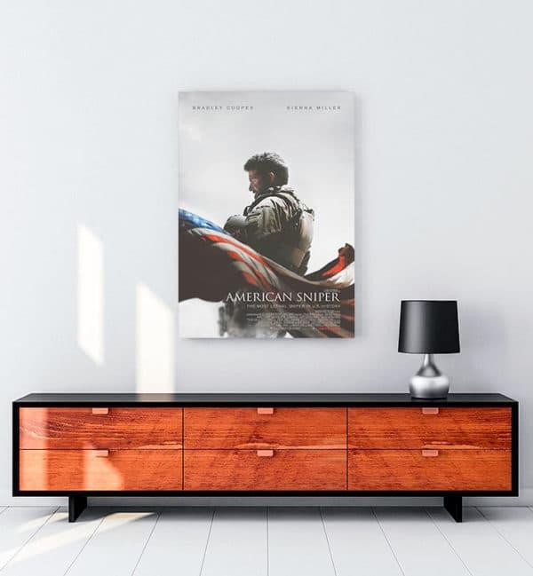 American Sniper kanvas tablo