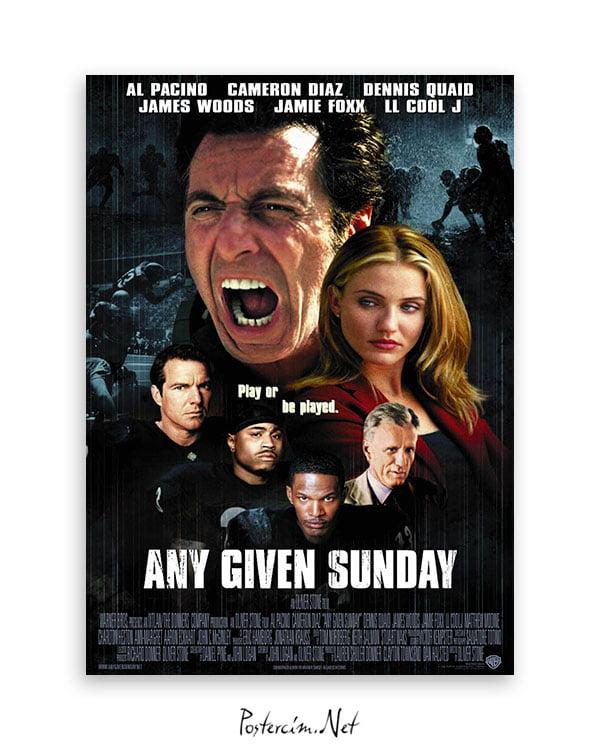 Any Given Sunday afiş