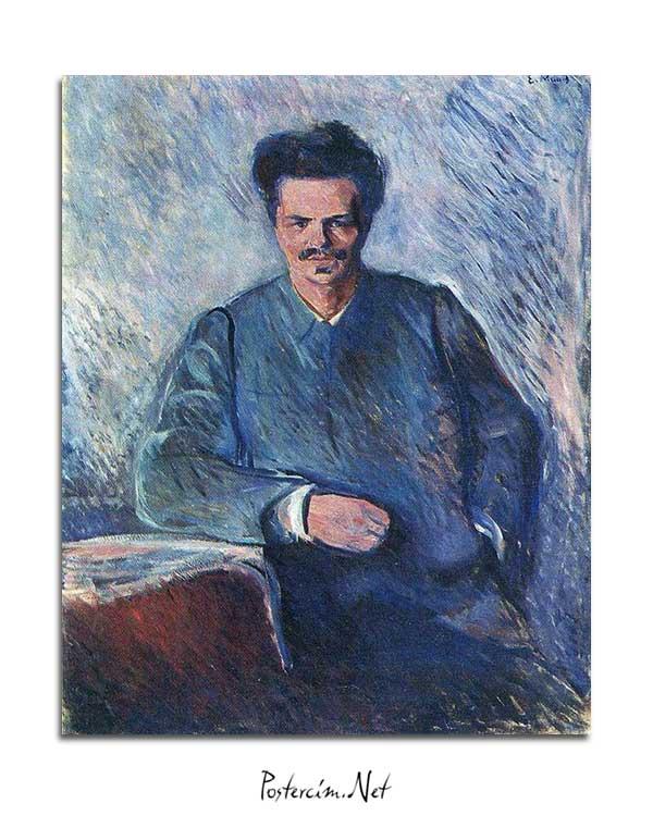 Edvard Munch - August Stindberg posteri
