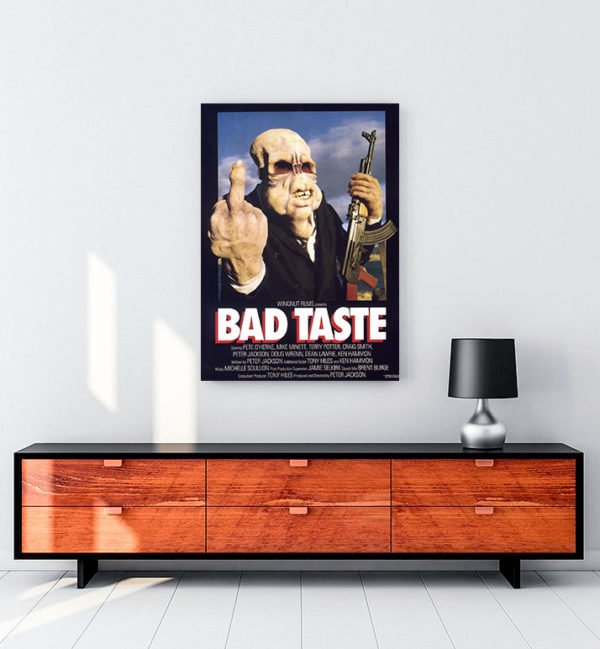 Bad Taste kanvas tablo