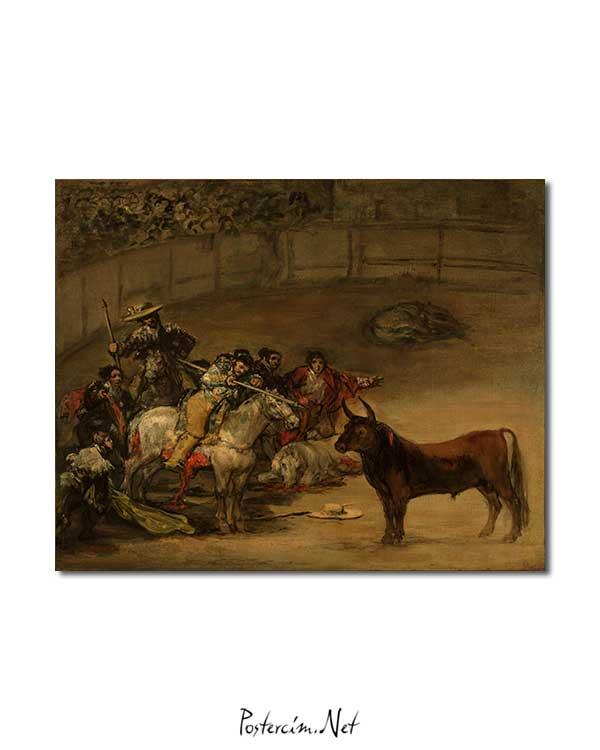 Francisco Goya - Boğa Güreşi posteri