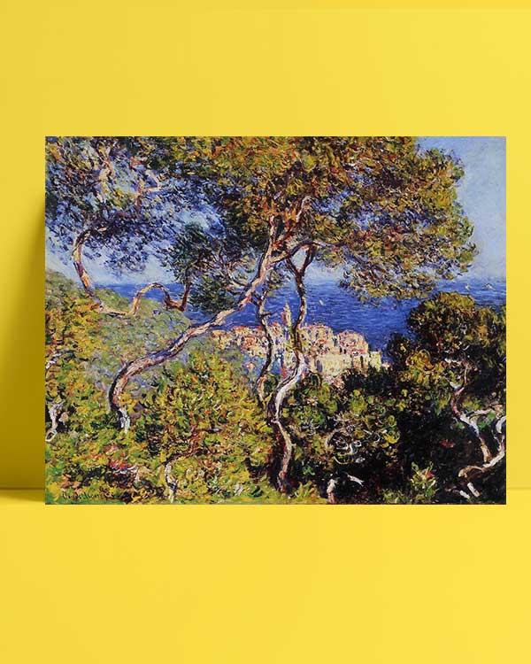 Claude Monet - Bordighera afişi