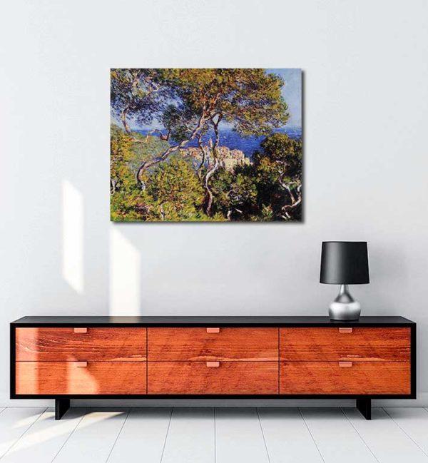 Claude Monet - Bordighera kanvas tablo