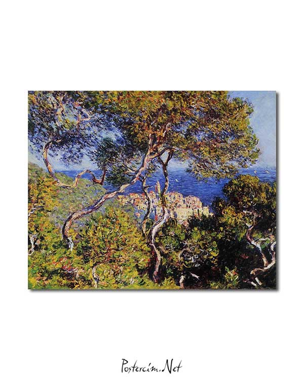 Claude Monet - Bordighera posteri