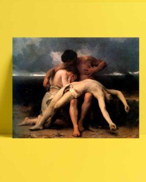William-Adolphe Bouguereau - İlk Ağıt afişi
