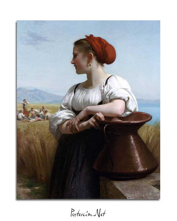 William-Adolphe Bouguereau - Moissonneuse posteri
