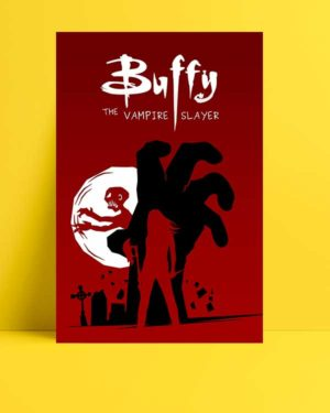 Buffy The Vampire Slayer afişi
