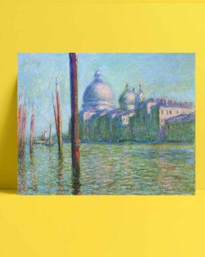 Claude Monet - Büyük Kanal afişi