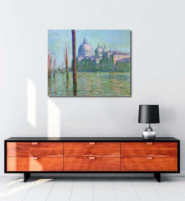 Claude Monet - Büyük Kanal kanvas tablo