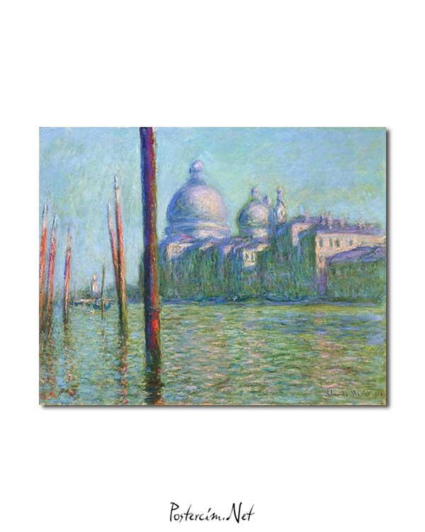 Claude Monet - Büyük Kanal posteri
