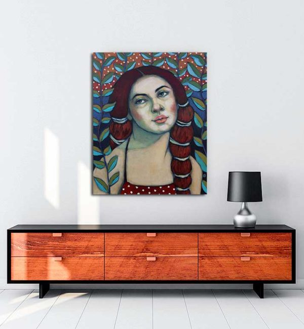 Jane Spakowsky - Castle Builder kanvas tablo