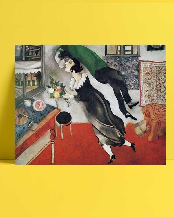 marcMarc Chagall - Doğumgünü afişi