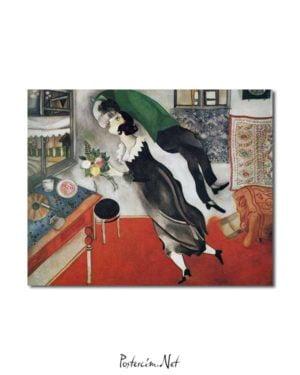 Marc Chagall - Doğumgünü posteri