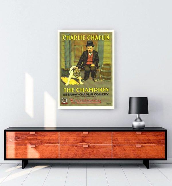 The Champion kanvas tablo