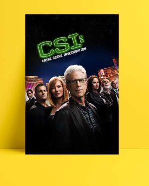 CSI- Crime Scene Investigation afişi