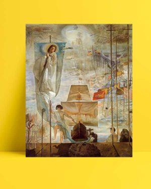 Salvador Dali - Amerika'nın Keşfi afişi