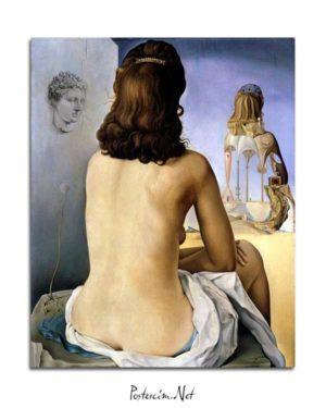 Salvador Dali - Bedenin Basamakları posteri