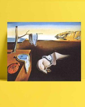 Salvador Dali - Belleğin Azmi afişi