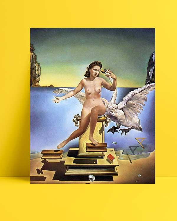 Salvador Dali - Leda Atomica afişi