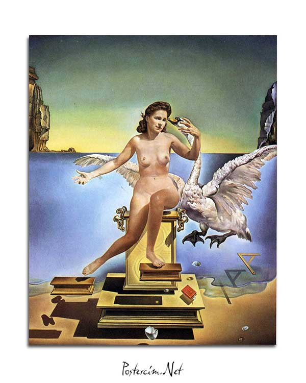 Salvador Dali - Leda Atomica posteri
