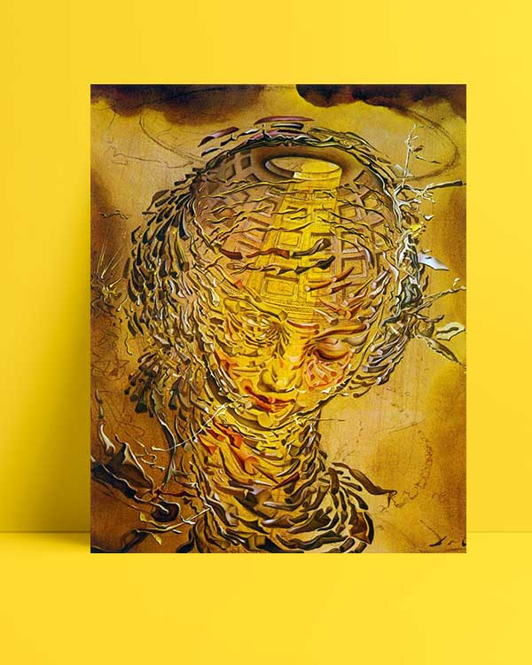 Salvador Dali - Raffaello Tarzı Patlamış Baş afişi