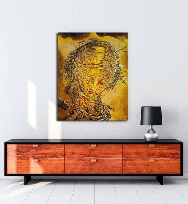 Salvador Dali - Raffaello Tarzı Patlamış Baş kanvas tablo