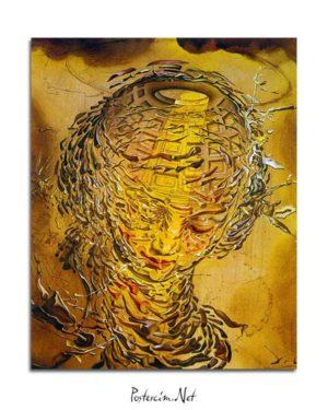 Salvador Dali - Raffaello Tarzı Patlamış Baş posteri