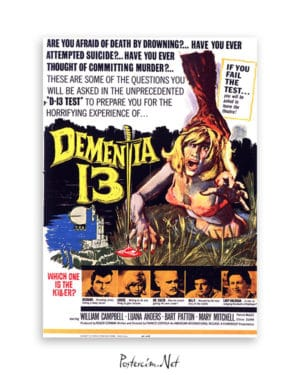 Dementia 13 afiş