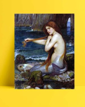 John William Waterhouse - Deniz Kızı afişi