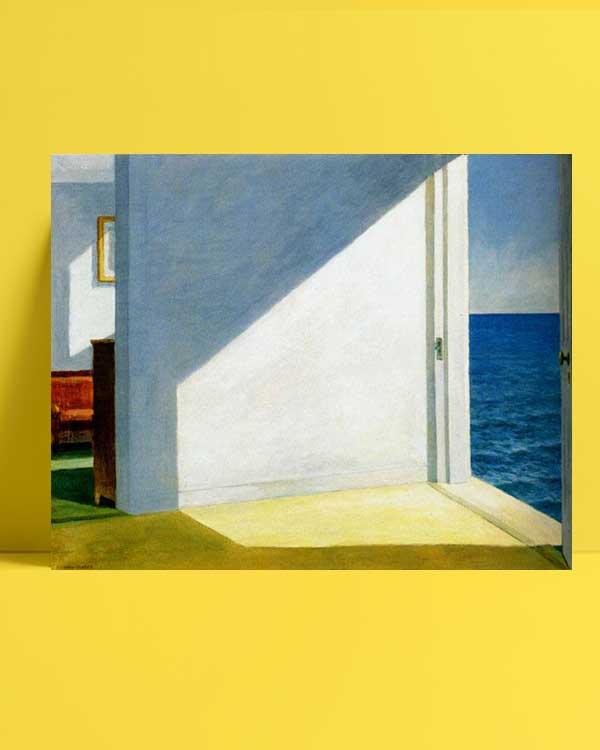 Edward Hopper - Denize Bakan Odalar afişi