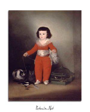 Francisco Goya - Don Manuel Osorio Manrique de Zuniga posteri