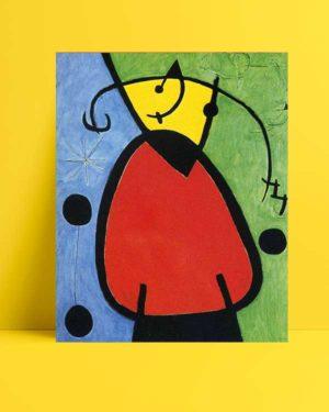 Joan Miró - Gün Doğuşu afişi
