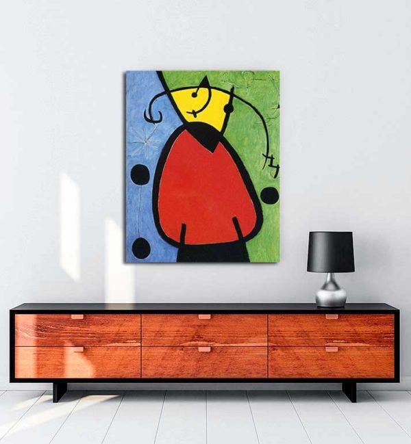 Joan Miró - Gün Doğuşu kanvas tablo