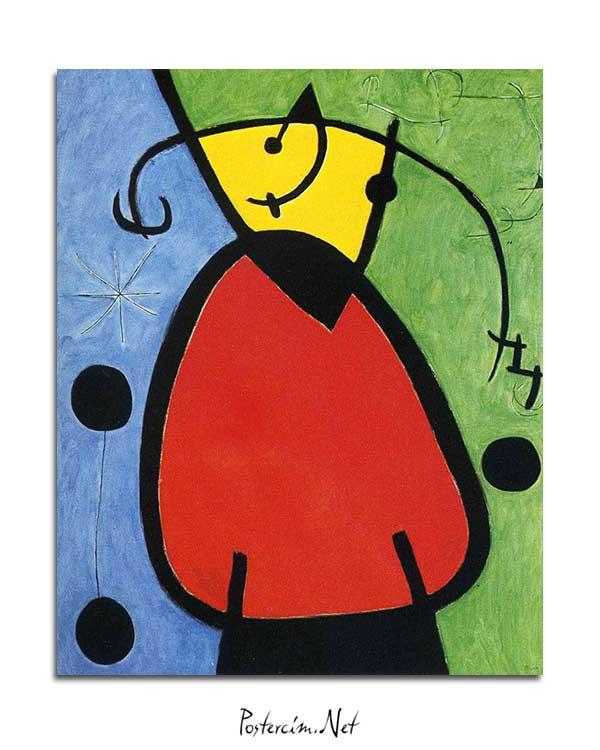 Joan Miró - Gün Doğuşu posteri