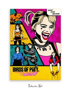 Harley Quinn: Birds of Prey Comic afişi