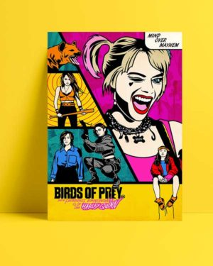 Harley Quinn: Birds of Prey Comic poster