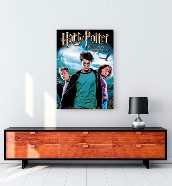 Harry Potter ve Azkaban Tutsağı Kanvas Tablo