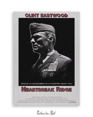 Heartbreak Ridge afiş