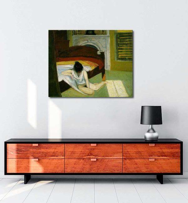 Edward Hopper - İçsel Yaz kanvas tablo