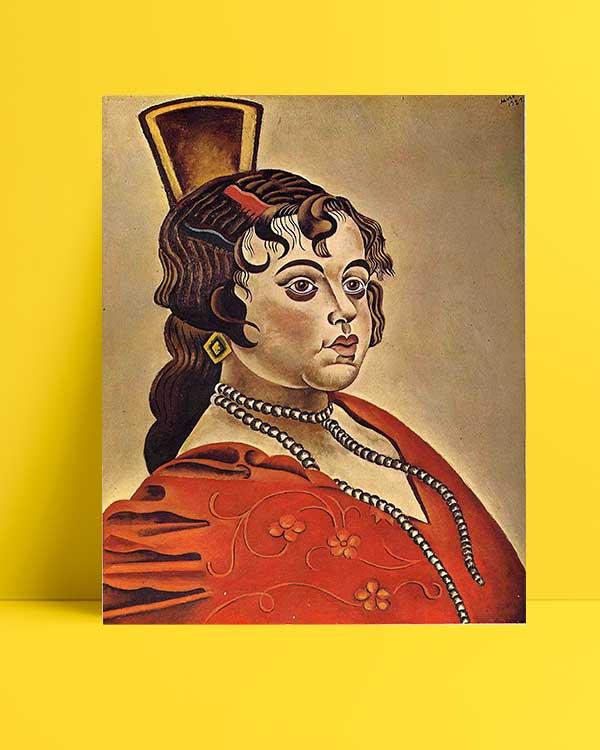Joan Miró - İspanyol Dansçının Portresi afişi