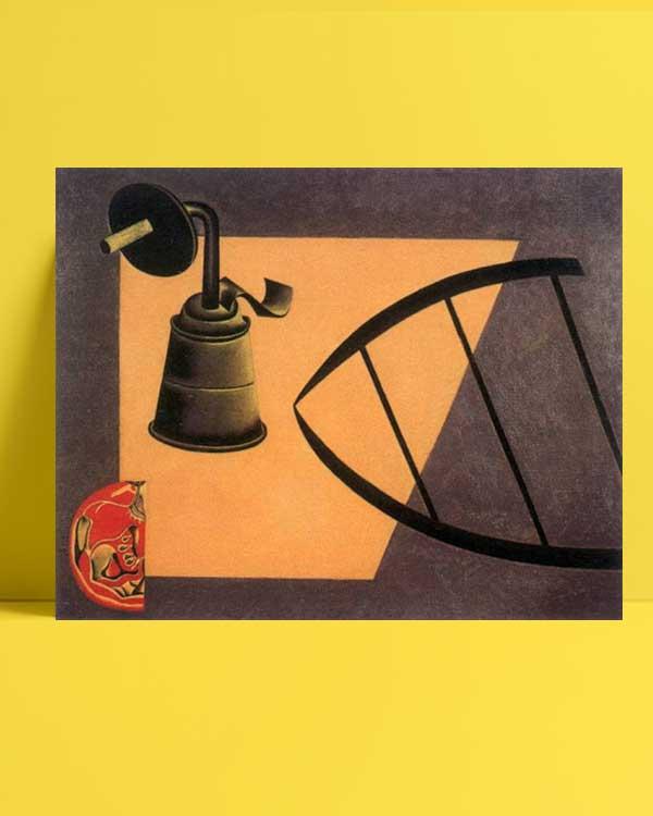 Joan Miró - Karbür Lambası afişi