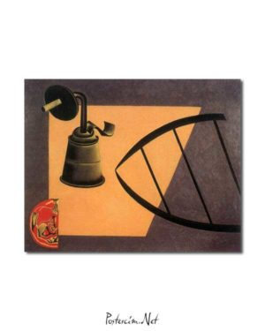 Joan Miró - Karbür Lambası posteri