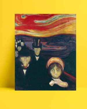 Edvard Munch - Kaygı afişi