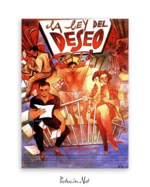 La Ley Del Deseo afiş