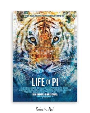 Pi'nin Yaşamı afiş