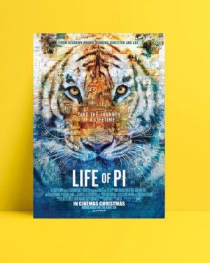 Pi'nin Yaşamı poster