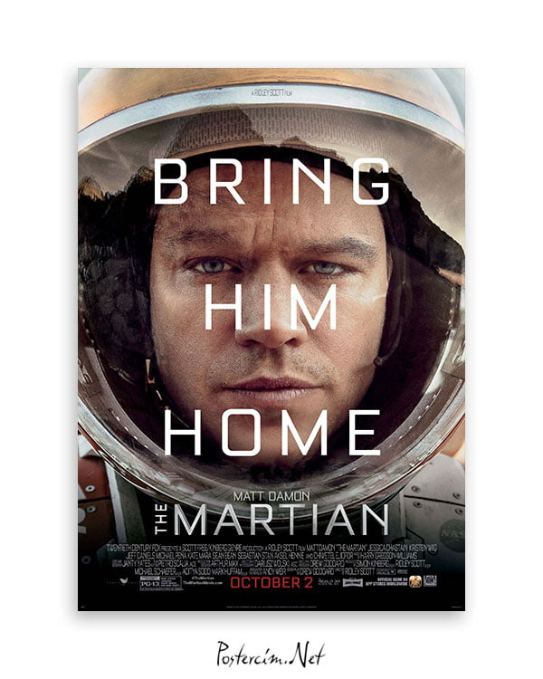 The Martian afiş