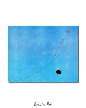 Joan Miró - Mavi III posteri