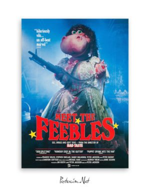 Meet the Feebles afiş